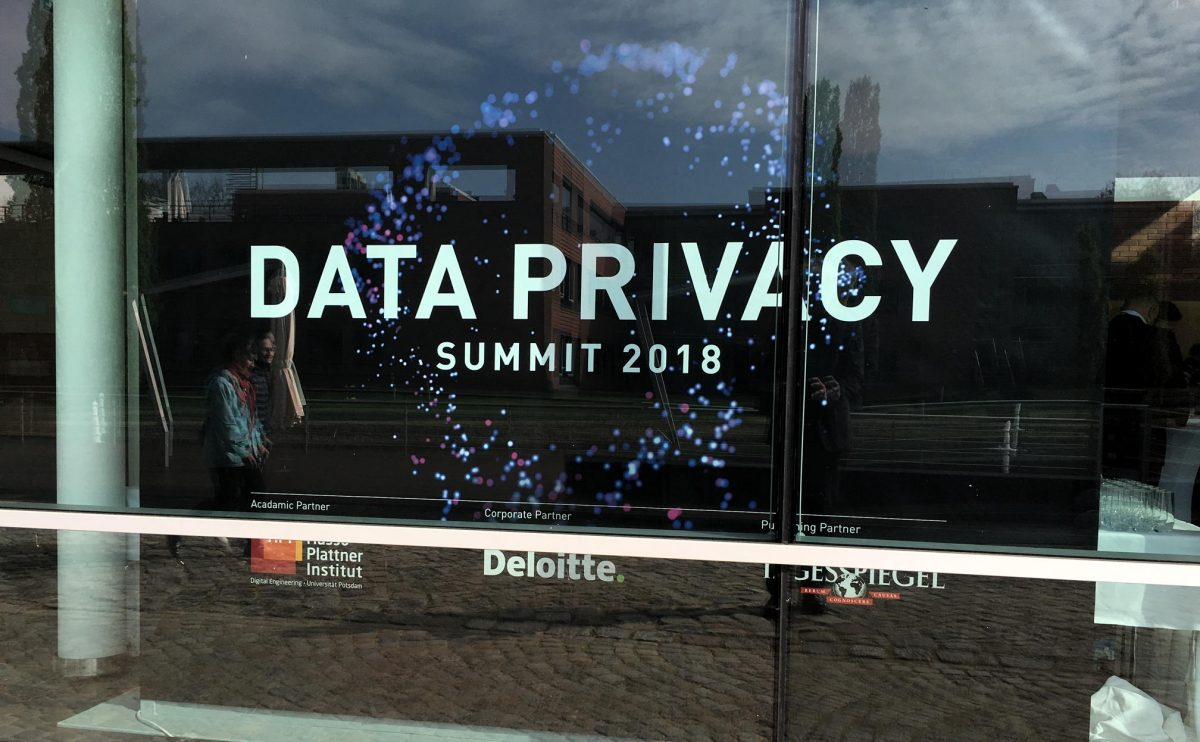 Data Privacy Summit 2018
